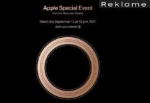 Apple event 12. september 2018