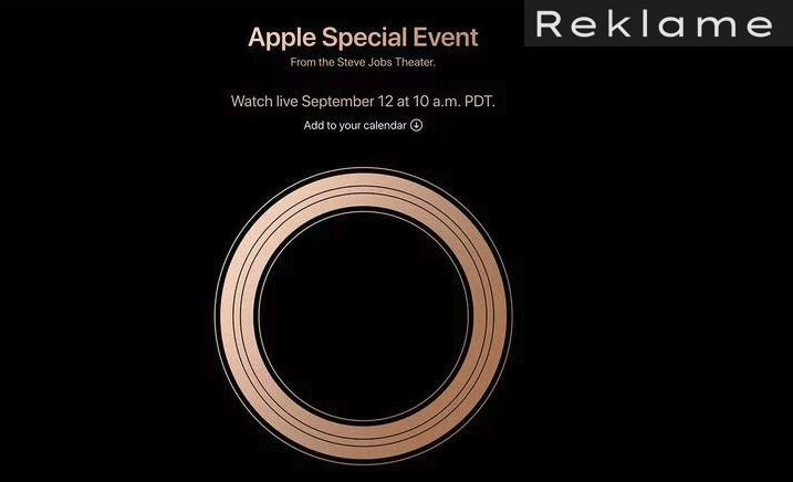 Apple event 12. september 2018